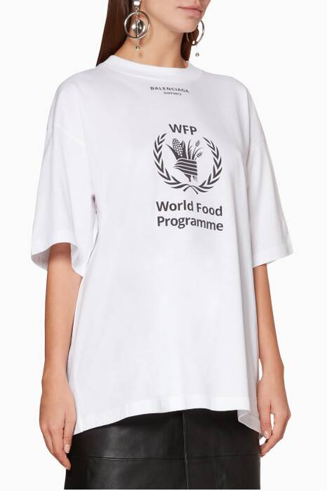 White WFP-Logo T-Shirt