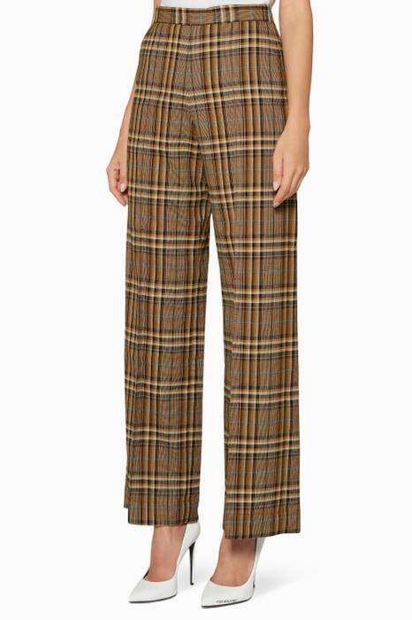 Multi-Coloured Check Narissa Pants