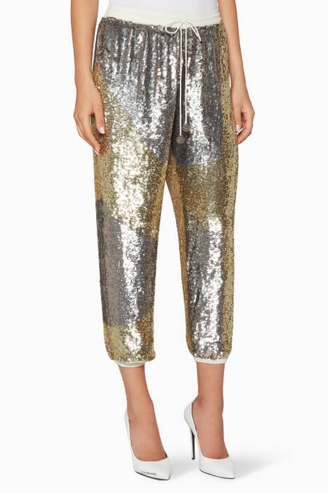 Silver & Gold Embellished Stacia Pants