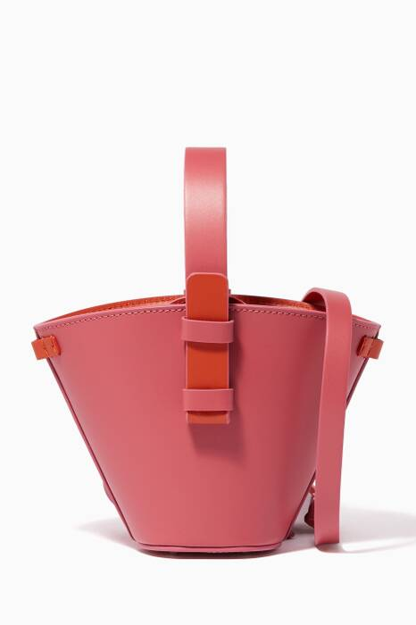 Pink Mini Nelia Bucket Bag