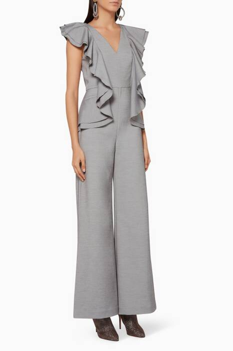Grey-Marle You Or Me Jumpsuit
