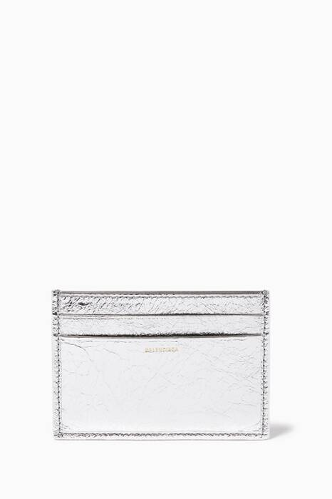 Silver Bazar Card Case