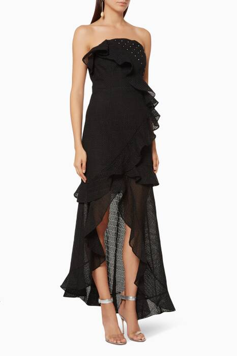 Black Think About Me Gown