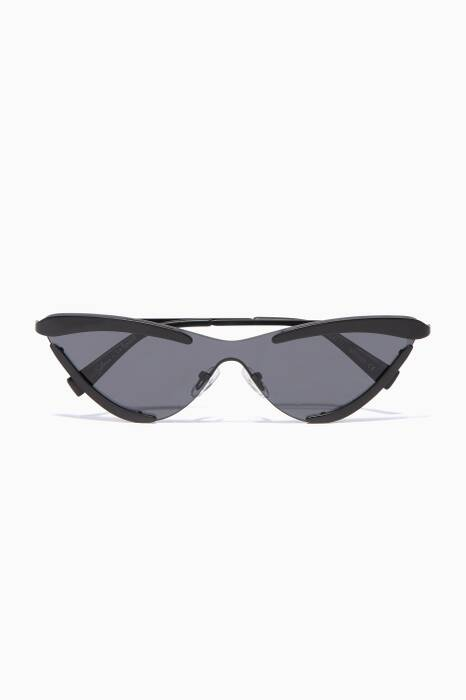 Black Le Specs X Adam Selman The Scandal Sunglasses
