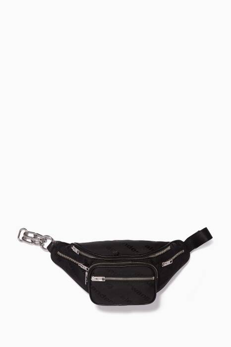 Black Attica Soft Belt Bag