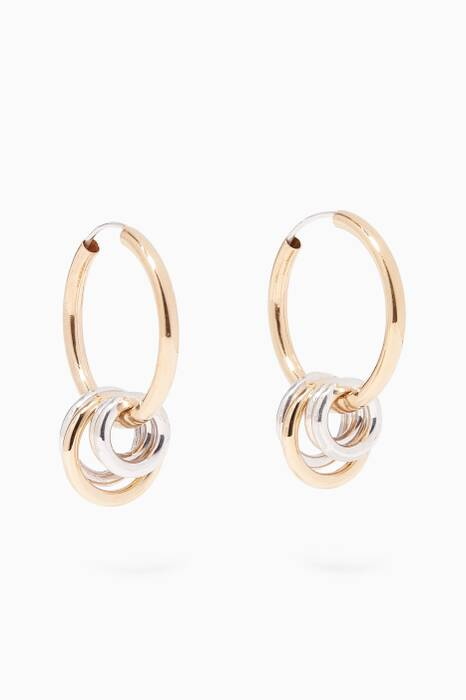Gold Multi Hoop Earrings