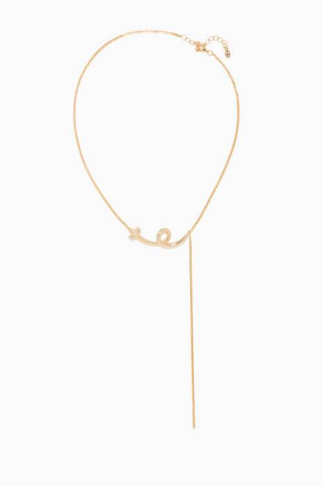 Gold Nail II Pendant Necklace
