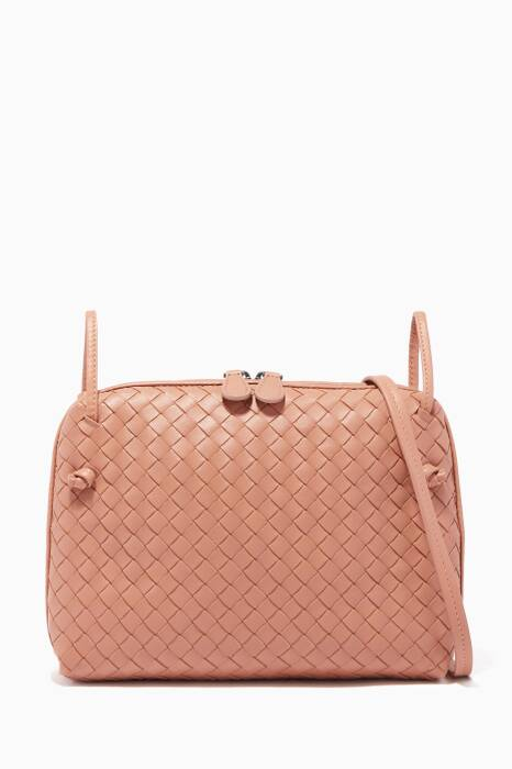 Dahlia-Pink Nodini Cross-Body Bag