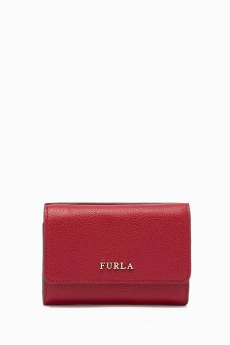 Ciliegia-Red Babylon Tri-Fold Wallet