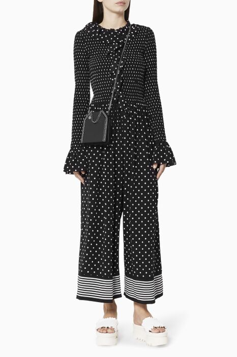 Polka-Dot Print Leticia Jumpsuit