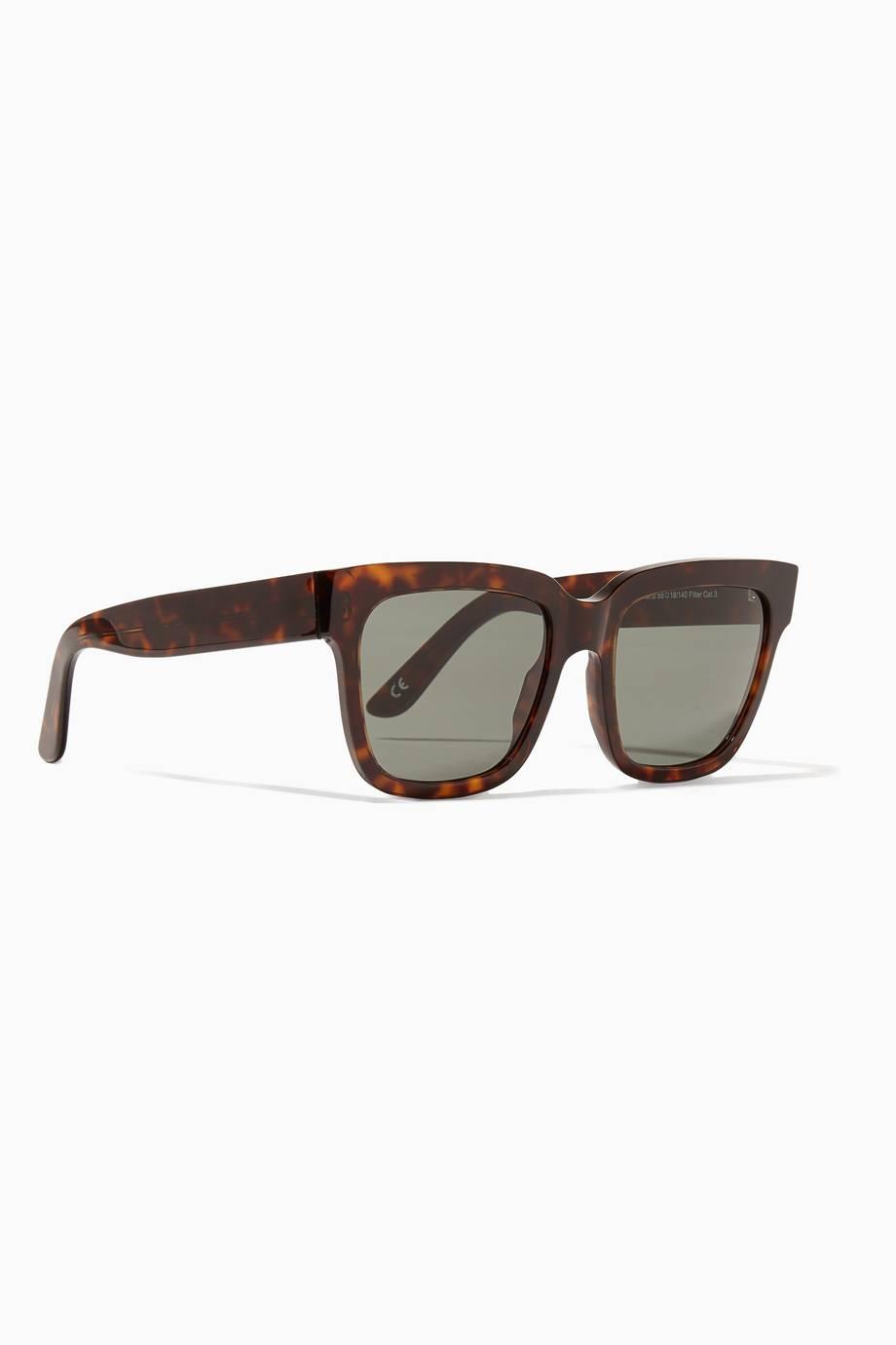 337696d6f تسوق نظارات شمسية فيكتوريا إطار مربع كبيرة بني من اندي وولف | اُناس ...