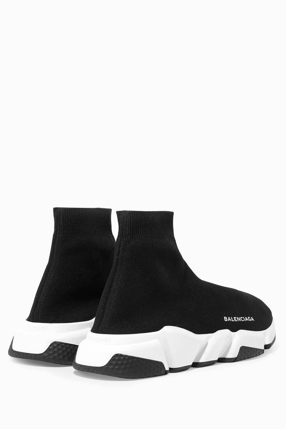 Shop Luxury Balenciaga Black Speed Sneakers Ounass Uae