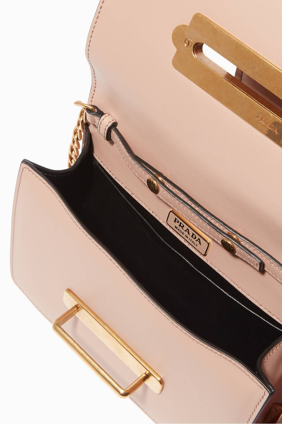 164c6050cc9b Shop Luxury Prada Beige Mini Moon & Star Cahier Bag | Ounass Kuwait