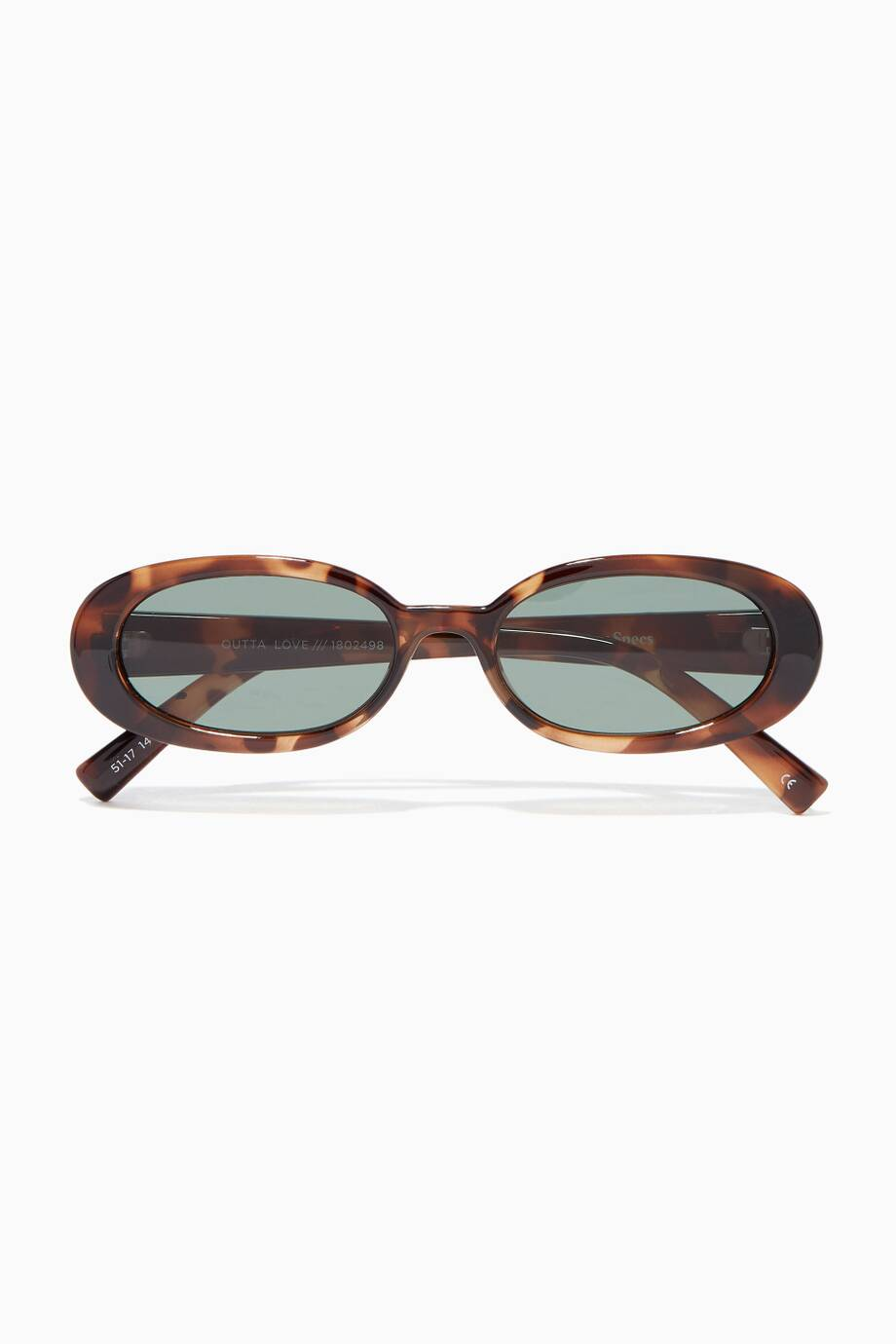 606ef92ac1 Shop Luxury Le Specs Tort Acetate Outta Love Sunglasses
