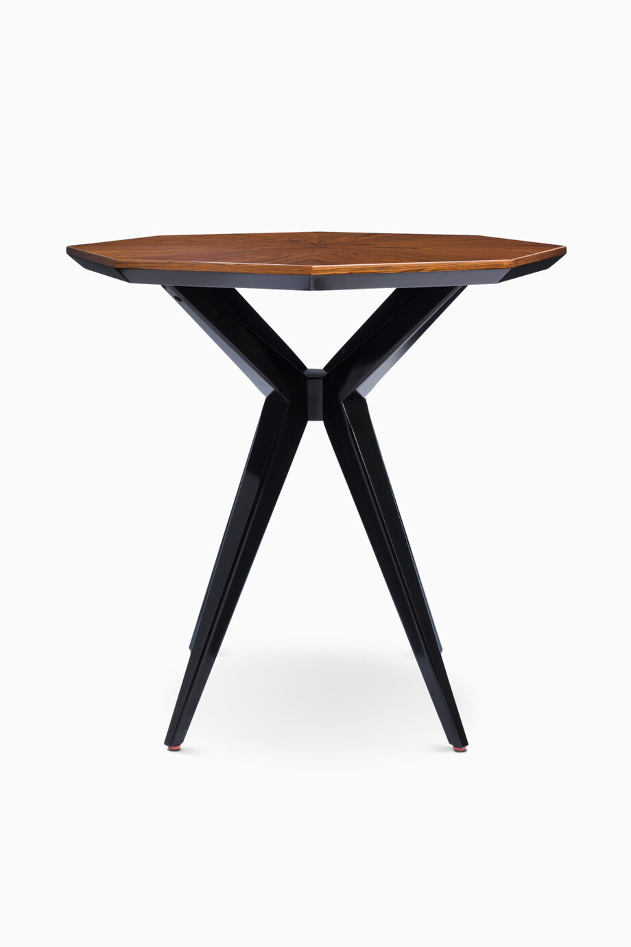 Shop Kate Spade New York Brown Rosewood & Onyx Starburst Side Table