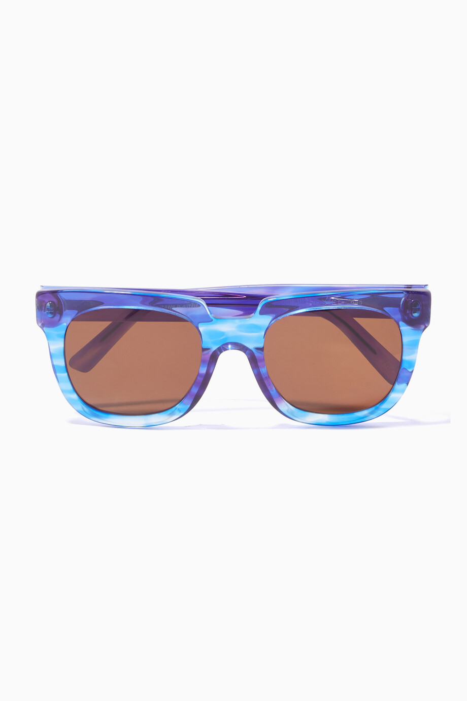 b27a7297f تسوق نظارات شمسية فيكتوريا إطار مربع كبيرة ازرق اندي وولف أزرق ...