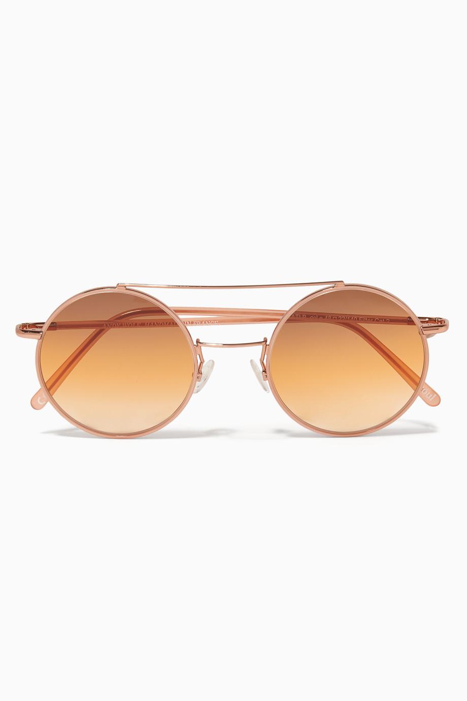 418b24c82 تسوق نظارات تاتي شمسية وردية فاتحة اندي وولف ملون للنساء | اُناس البحرين
