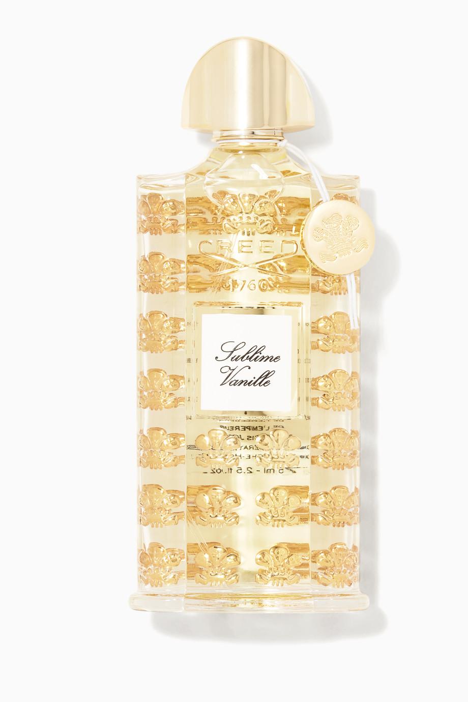 Shop Creed Multicolour Sublime Vanille Eau De Parfum 75ml For Women