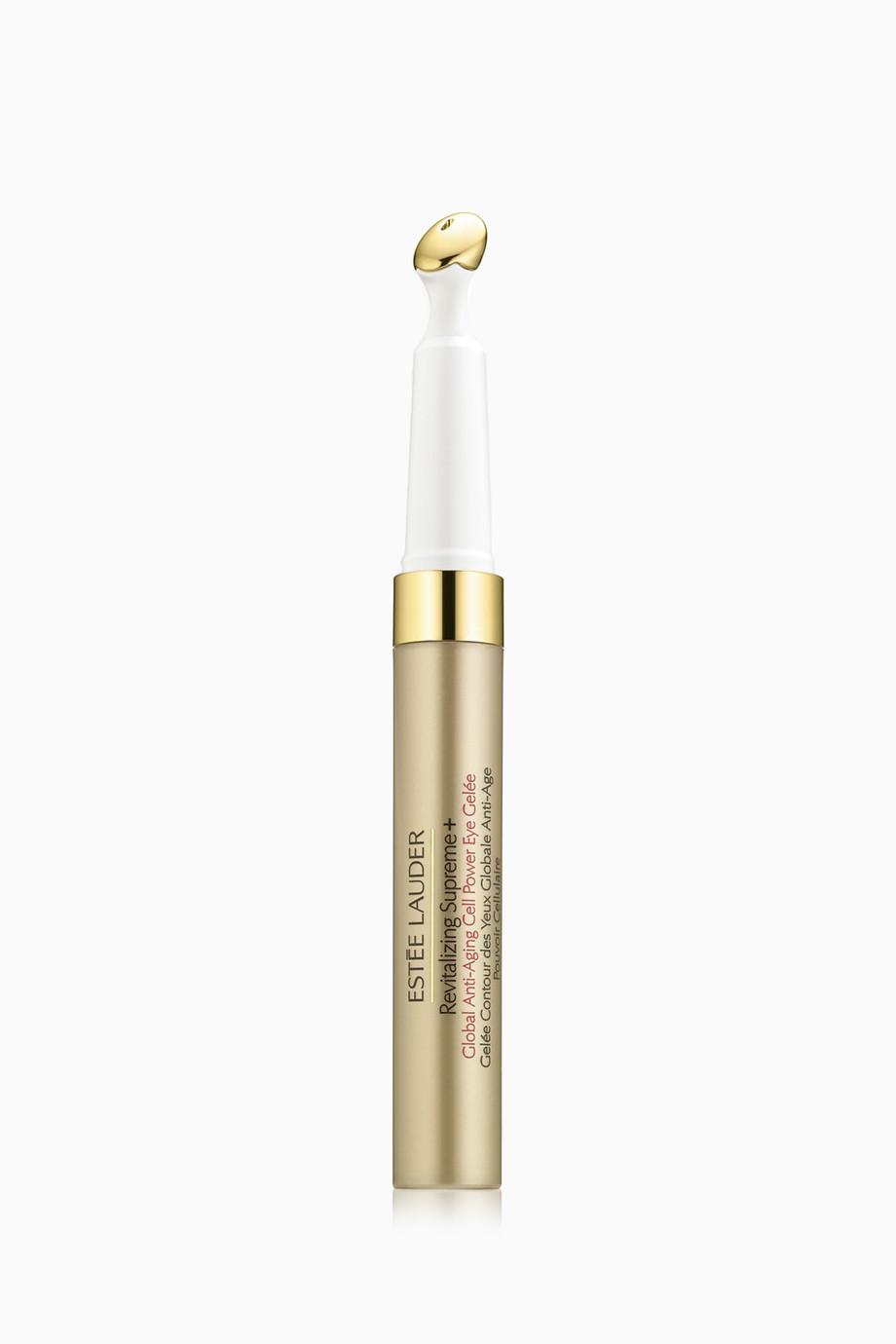 bc8954c7a880 Shop Estée Lauder Multicolour Revitalizing Supreme+ Global Anti-Aging Cell  Power Eye Gelee for Women