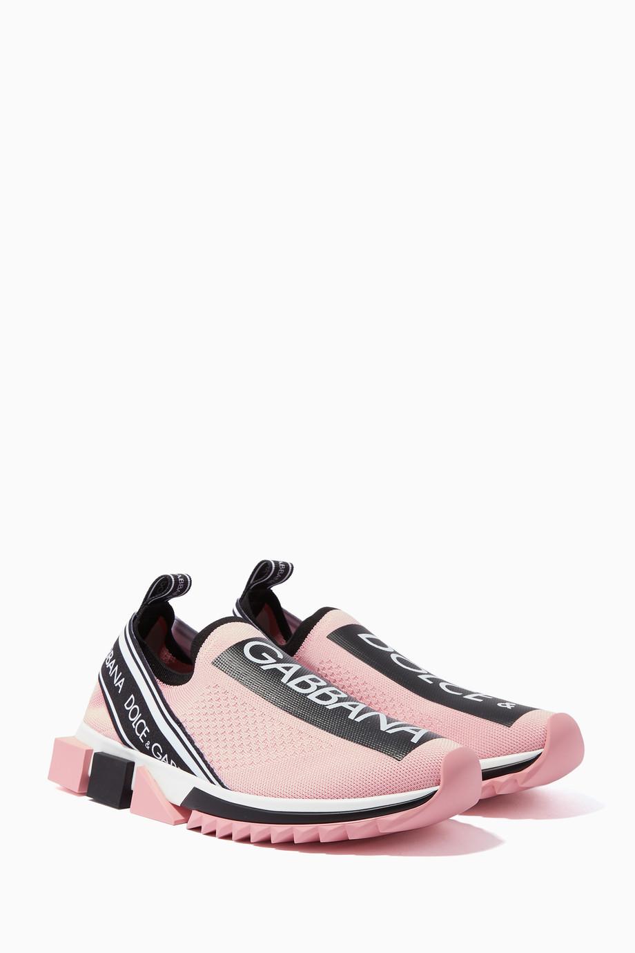 b6cadec17 تسوق حذاء سنيكرز سورينتو وردي Dolce & Gabbana وردي للنساء | اُناس ...