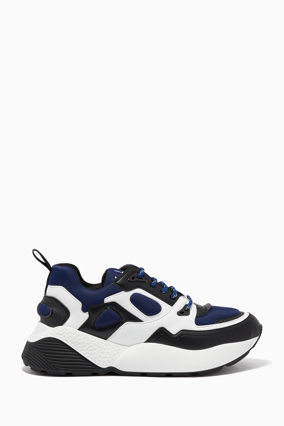 17658a896 تسوق حذاء سنيكرز إكليبس متعدد الألوان ستيلا مكارتني أزرق للرجال ...