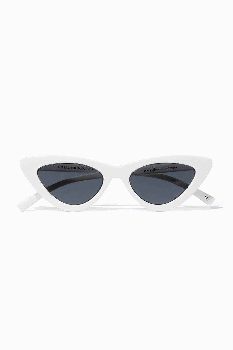 2cc34644d15 Shop Le Specs White White The Last Lolita Sunglasses for Women ...