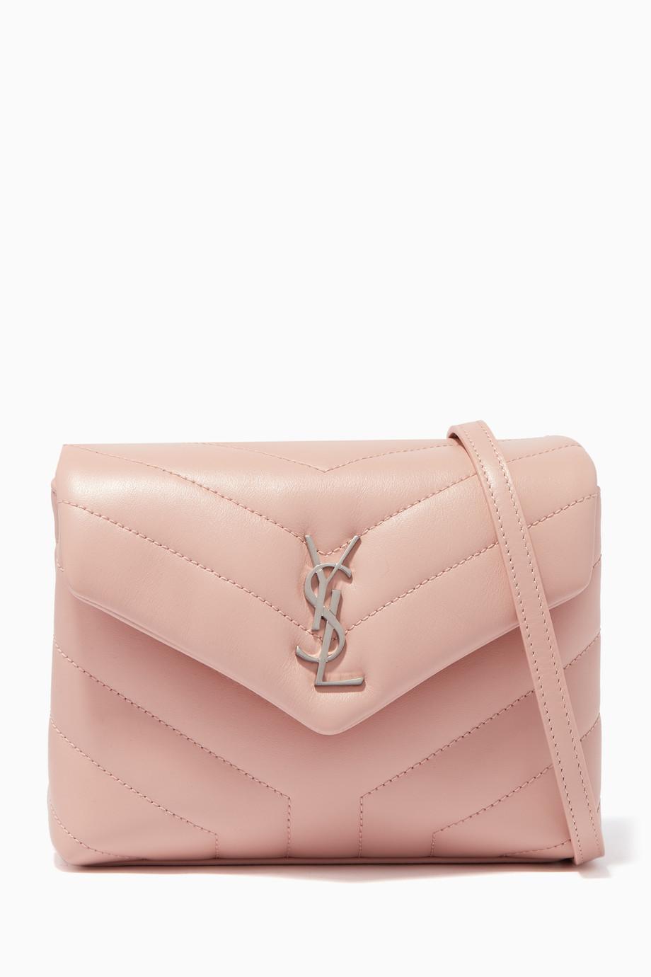 82d93ff308789 تسوق حقيبة كروس لولو توي وردية باهتة سان لوران وردي للنساء
