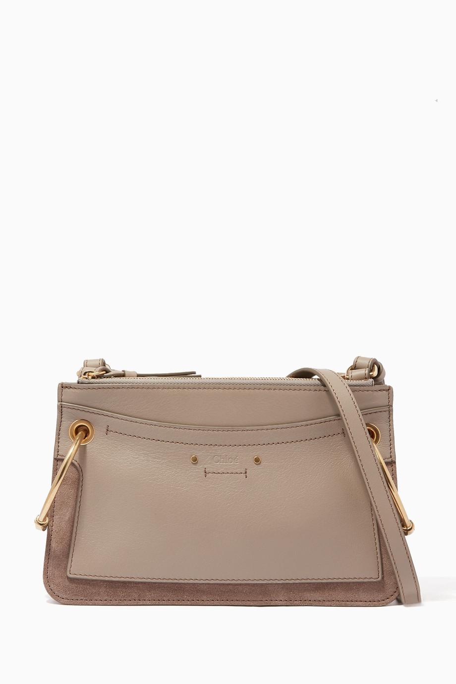 Hemline Bag Chain 120cm Gold