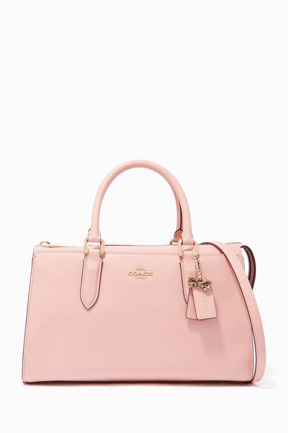 91f3f32d54 Shop Coach Pink Coach X Selena Gomez Selena Bond Bag for Women ...