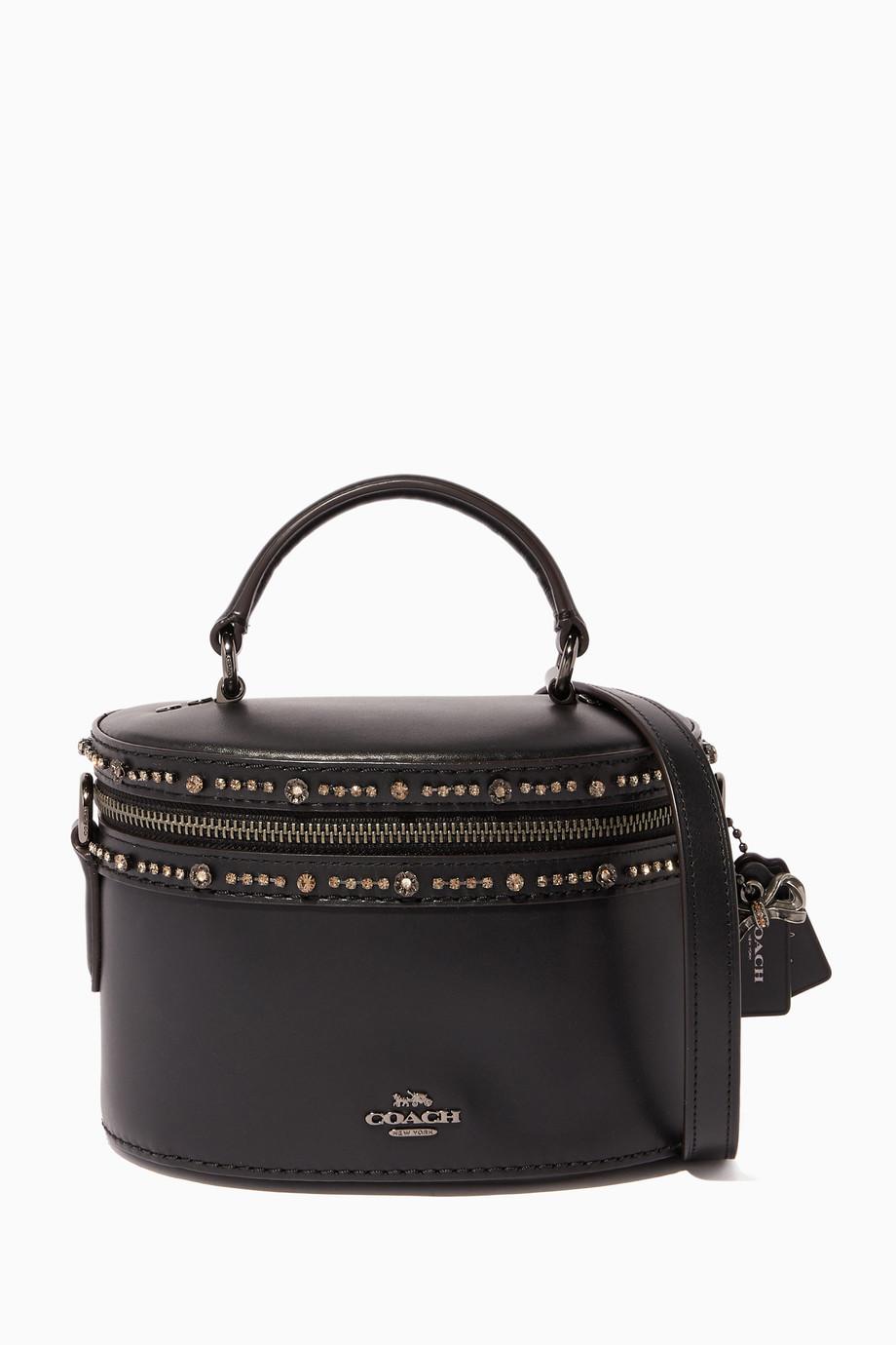 c8a3e1b4 Shop Coach Black Coach X Selena Gomez Crystal-Embellished ...