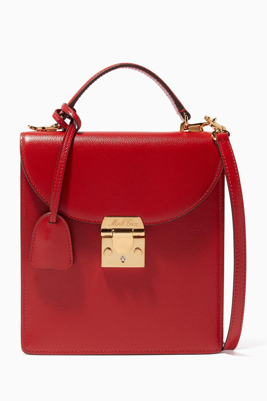 6b794e12eb558 تسوق حقيبة بيد علوية أب تاون حمراء مارك كروس أحمر للنساء