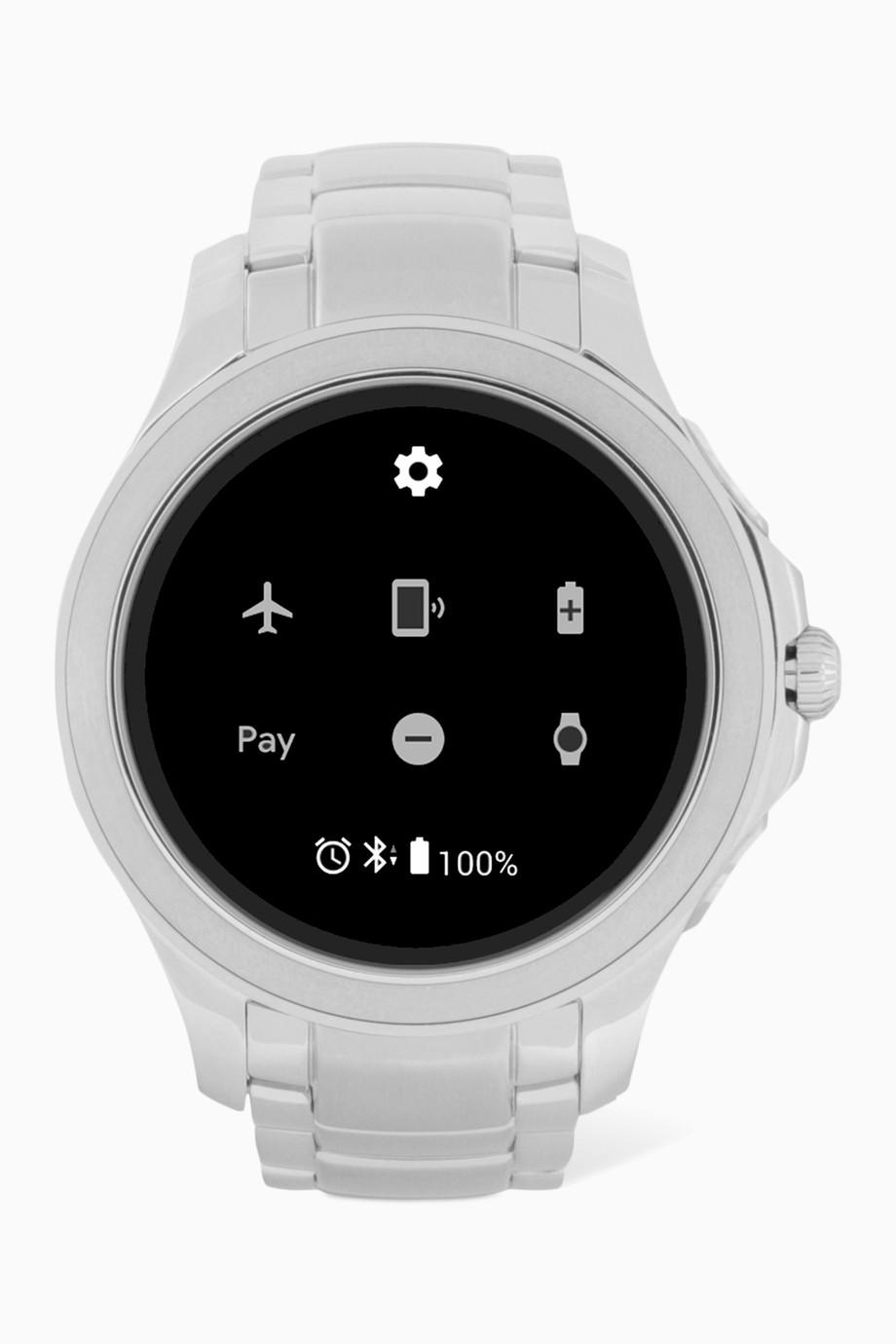 dfc77abbb تسوق ساعة ألبرتو ذكية ستانلس ستيل Emporio Armani ملون للرجال | اُناس