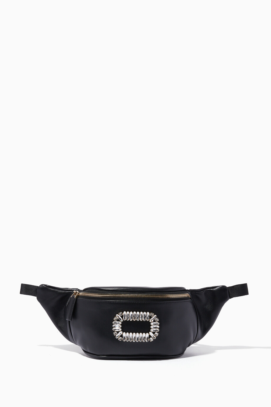 Shop Roger Vivier Black Black Belty Viv Belt Bag for Women  b102f73b78f35