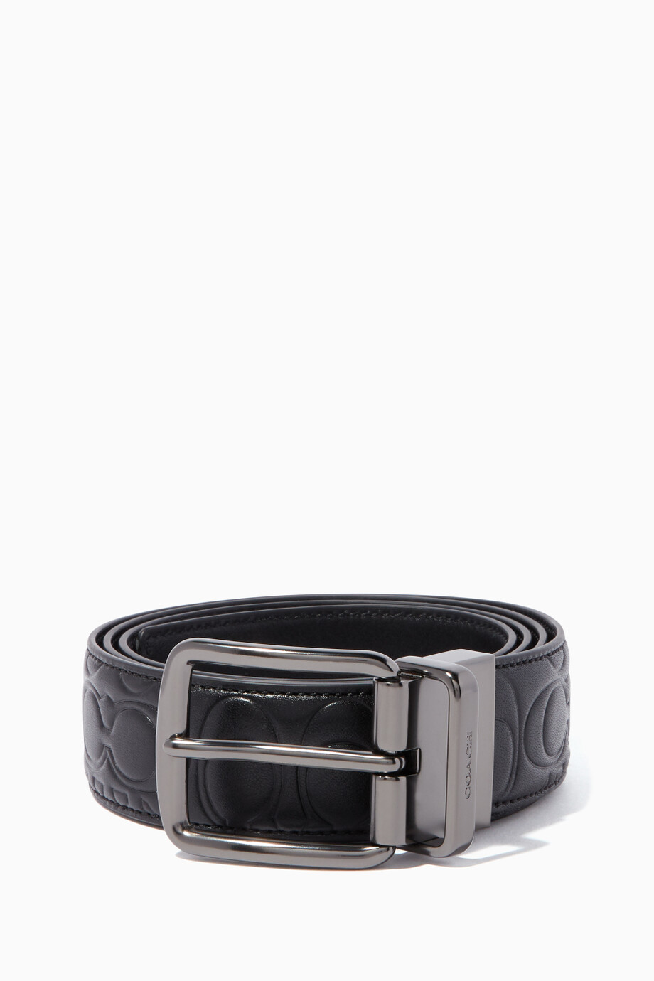 e55ab7ce0f1bd MenAccessoriesBeltsCasual Belts. Black Signature Harness Reversible Belt  Black Signature Harness Reversible Belt. Coach