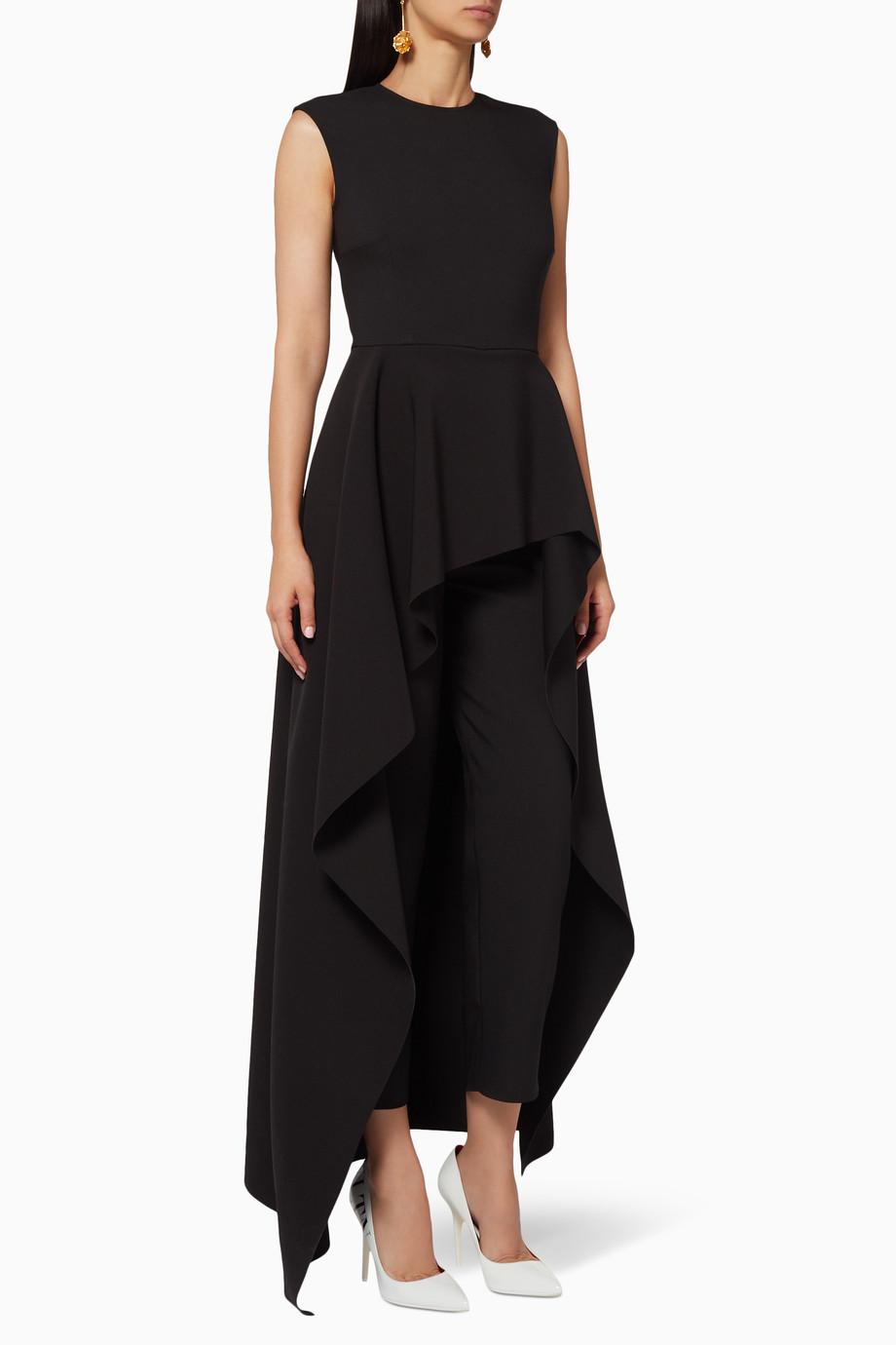 1087b004d7a1 Shop Solace London Black Black Soraya Jumpsuit for Women