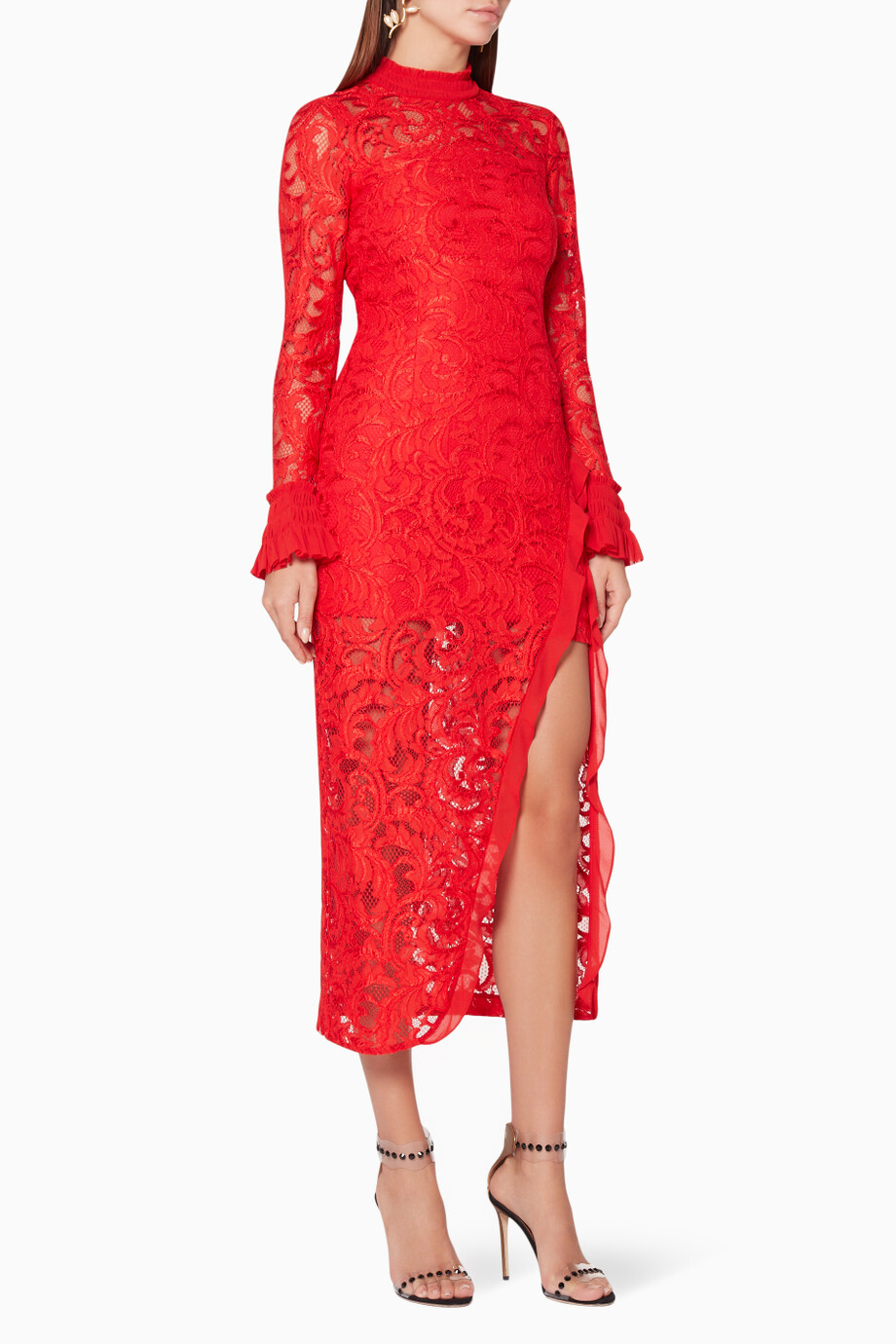 161e162cae8 Shop Alexis Red Red Fala Lace Dress for Women