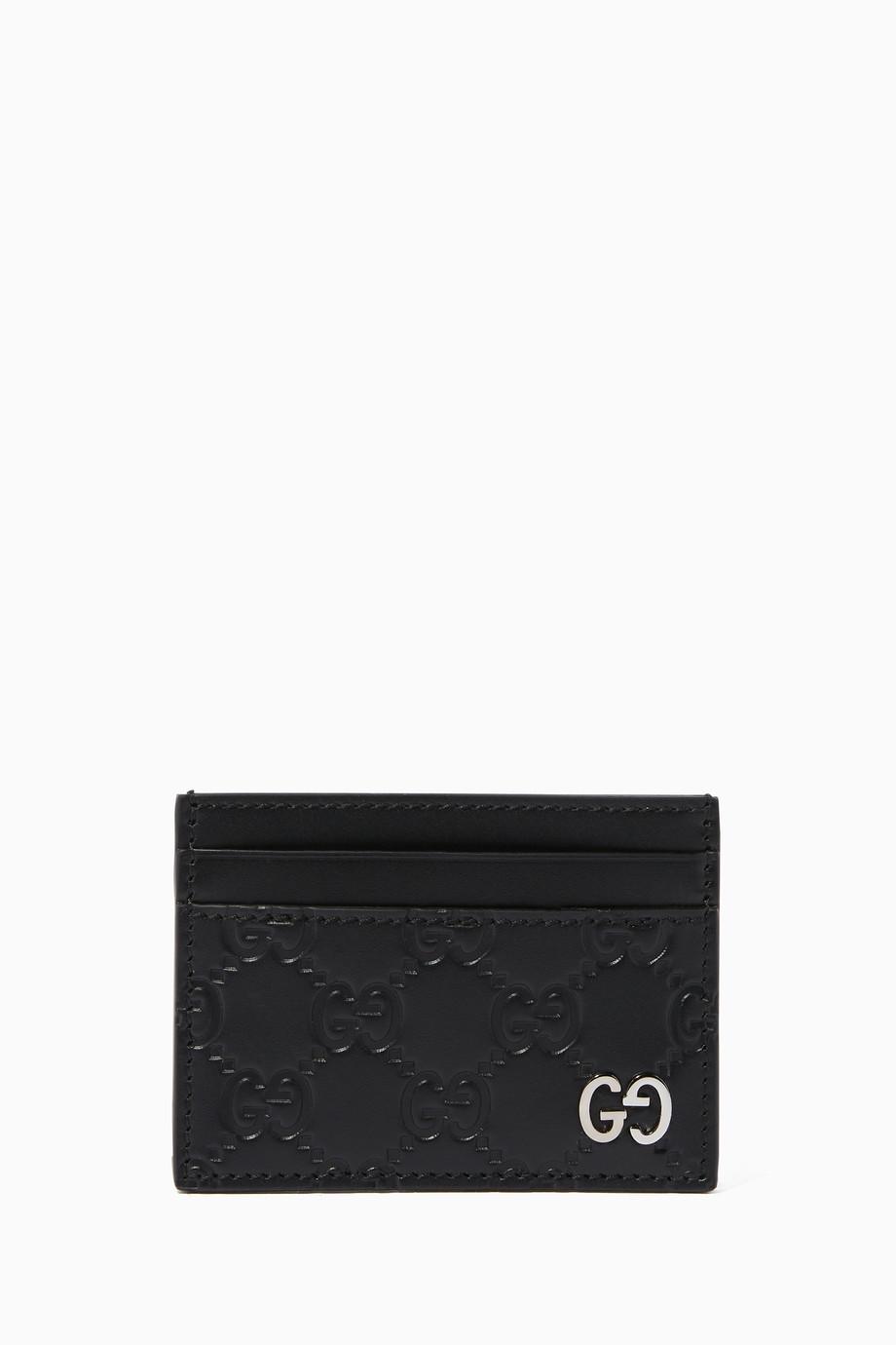 card holder wallet mens gucci