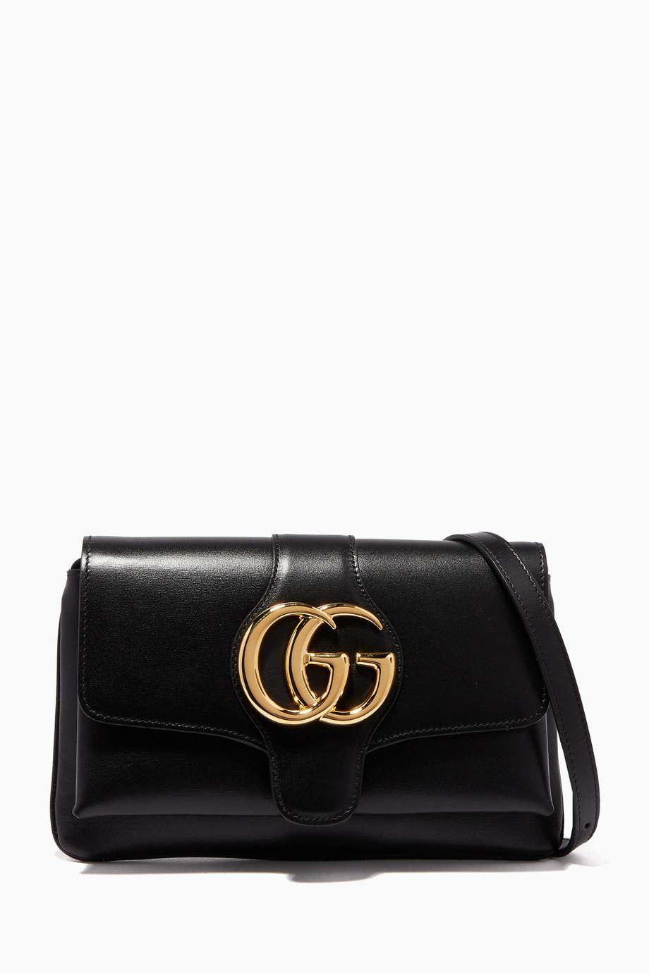 60e6df39895 Shop Gucci Black Black Arli Small Shoulder Bag for Women