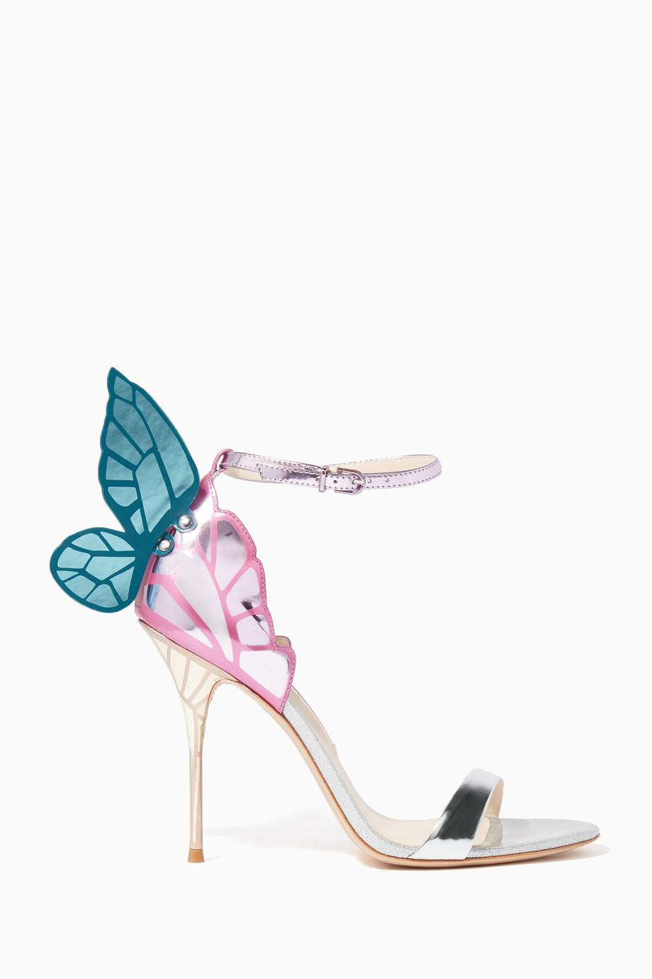 f17505442f2 Shop Sophia Webster Multicolour Multi-Coloured Chiara Butterfly ...