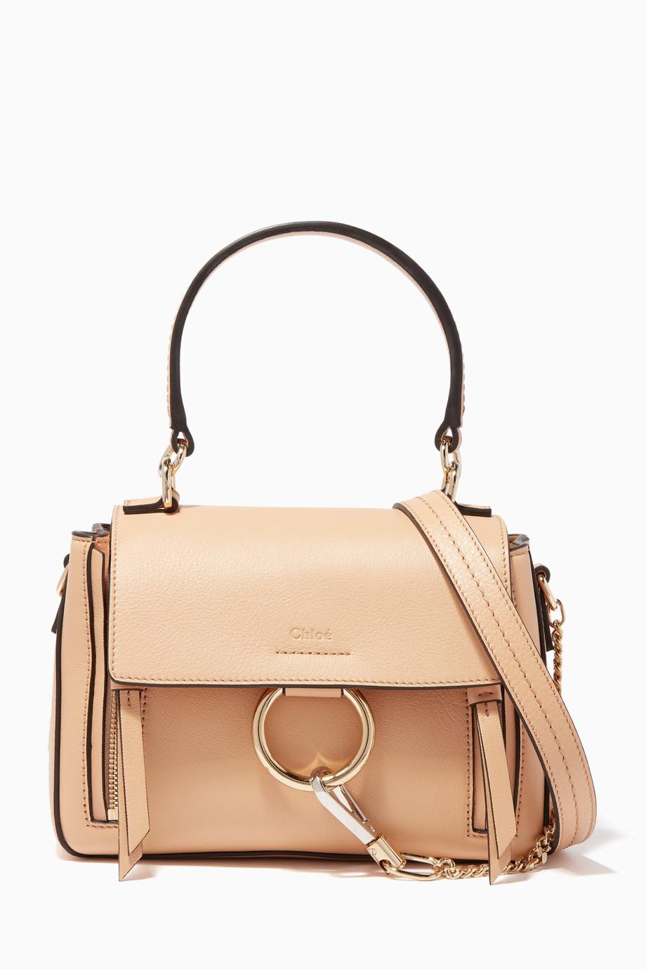 ddfac356f76db تسوق حقيبة فايي صغيرة Chloé وردي للنساء