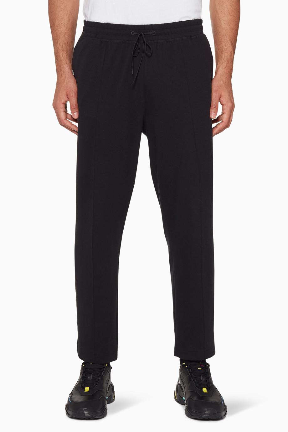 7f1760f907 Shop PUMA Select Black Puma X Bradley Theodore Track Pants for Men ...