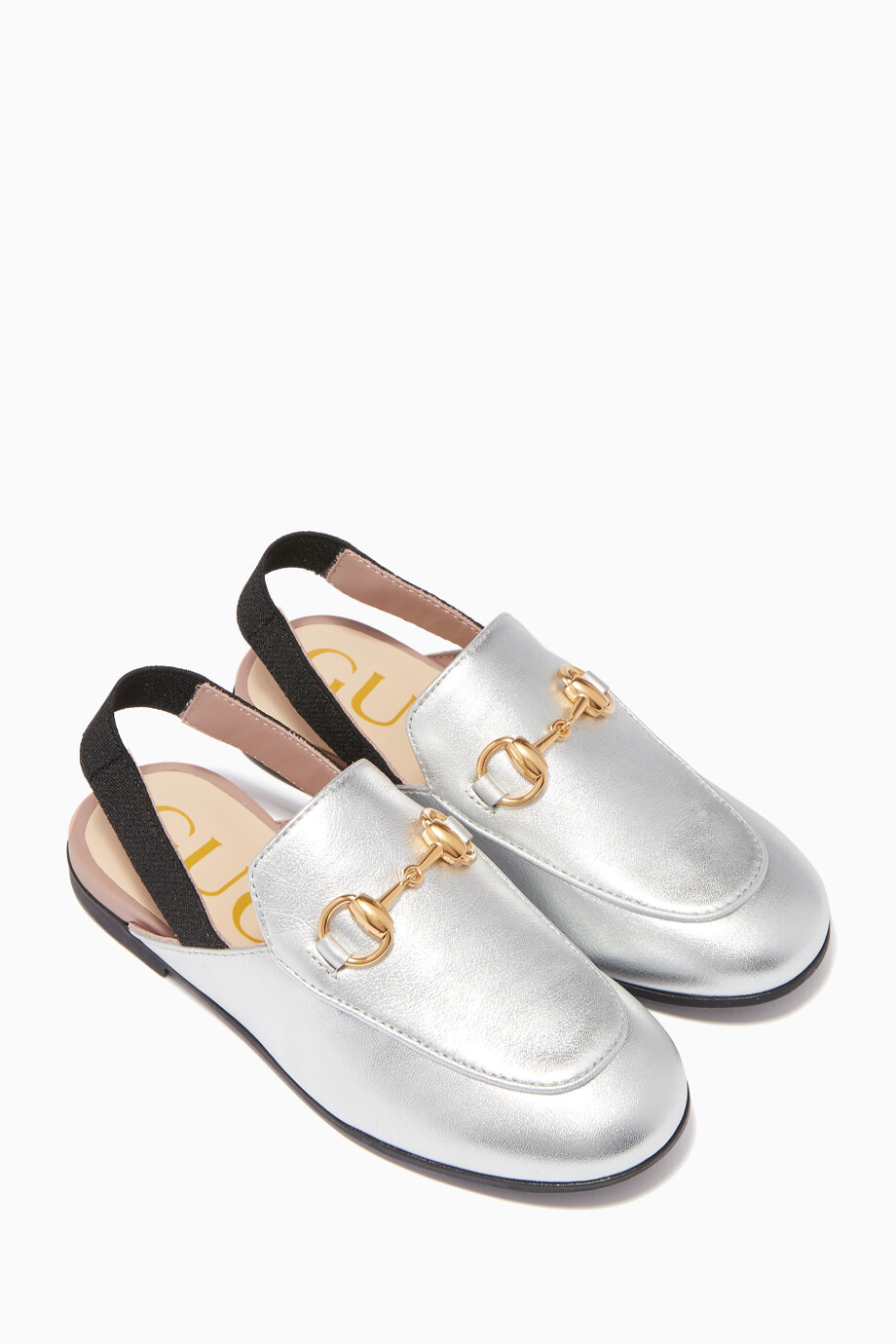 0edca295c Silver Princetown Leather Slippers Silver Princetown Leather Slippers Silver  Princetown Leather Slippers Silver Princetown Leather Slippers. Gucci