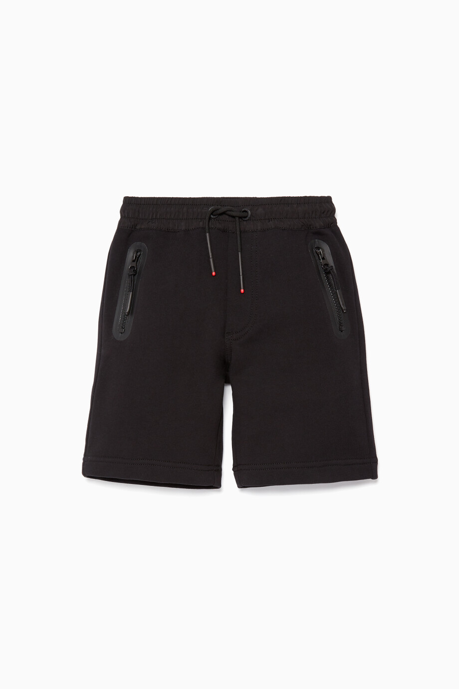 cb6081479 Shop Diesel Black Black Boys Drawstring Shorts for Kids | Ounass