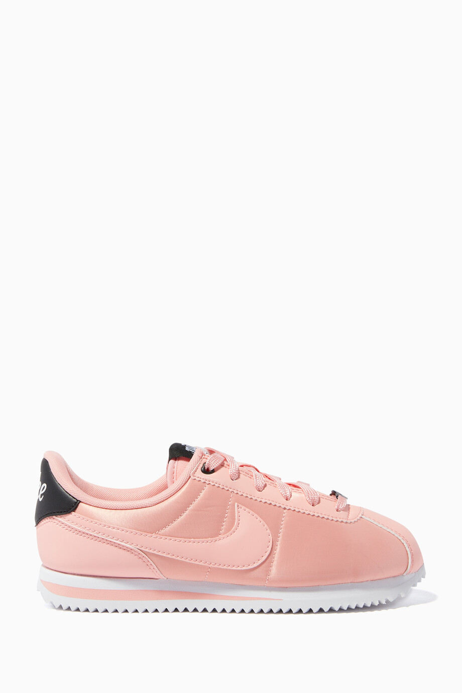 size 40 09424 5228d Shop Nike Pink Pink Cortez Basic Sneakers for Kids | Ounass UAE
