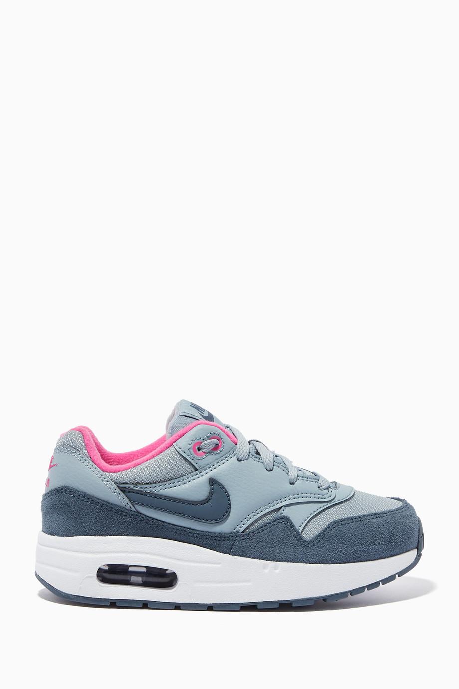ab32258964 Shop Nike Blue Blue Nike Air Max Sneakers for Kids | Ounass UAE