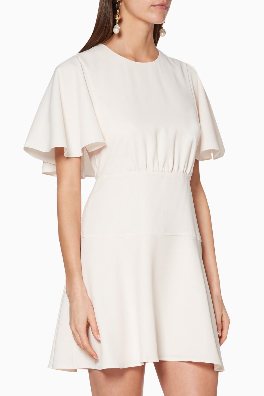 bcb15ed5d3 Shop Club Monaco White White Ceithan Dress for Women | Ounass