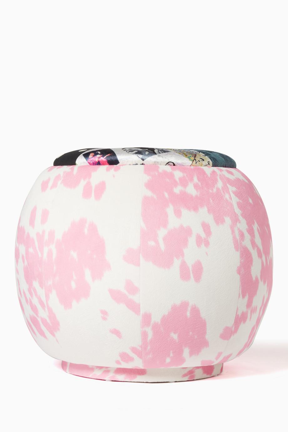 Fine Shop Mishmashi Multicolour Cow Print Tufted Patchwork Dailytribune Chair Design For Home Dailytribuneorg