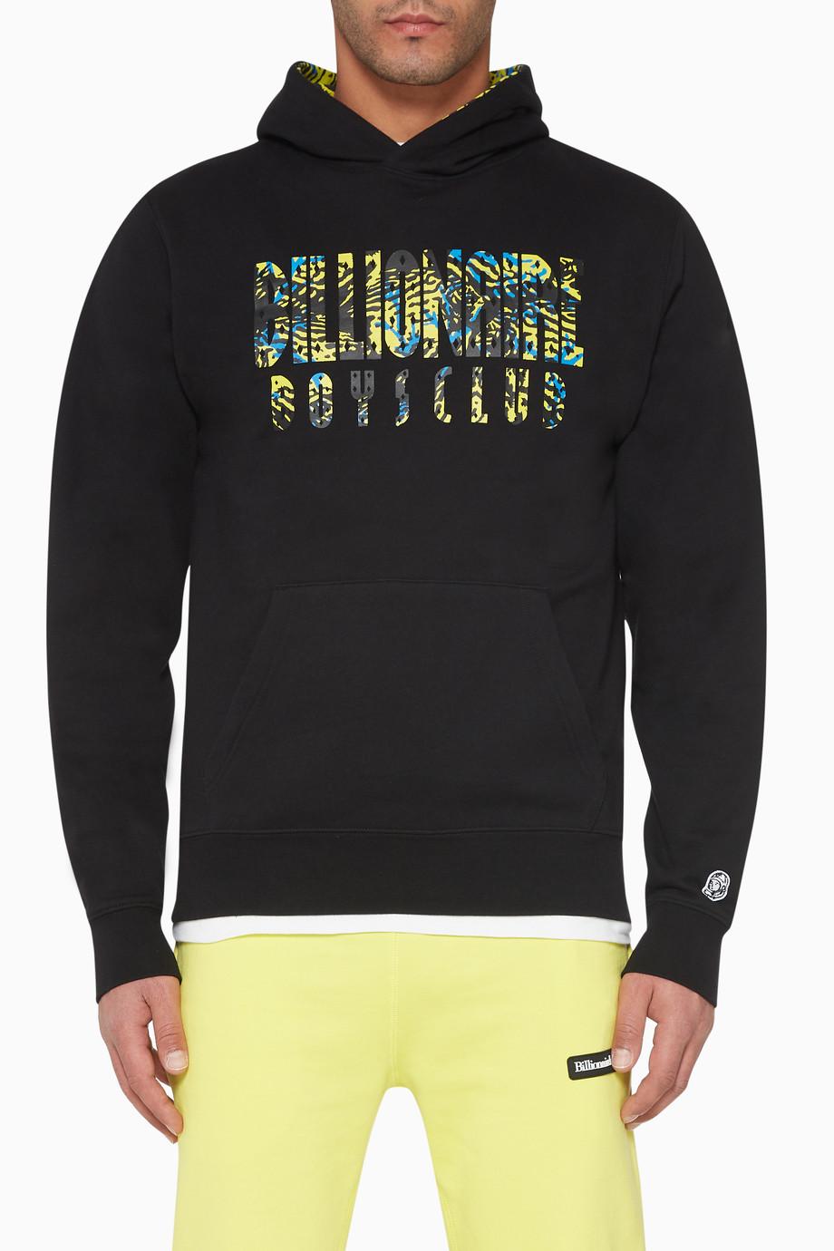 f56f1cade Shop Billionaire Boys Club Black Fish Camo Popover Hoodie for Men ...