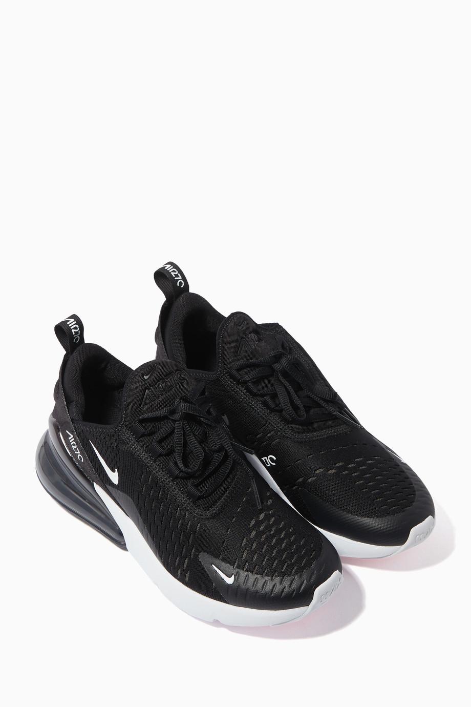 cheaper d5724 6d2ef Shop Nike Black Nike Air Max 270 for Kids   Ounass UAE